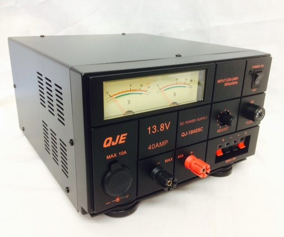 QJE-40amp. Multicom-QJE 40amp Linear Power Supply