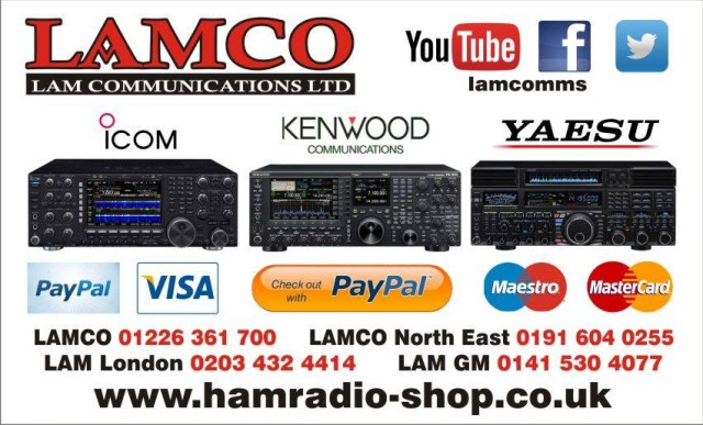 lamco QSL Card Amateur Radio Shops HAM Radio Dealer Supplier Retailer LAMCO New/Second Hand Twelve Months Warranty.Jnc 36 M1 Motorway. Barnsley, South Yorkshire, UK. Amateur Radio Sales. HAM Radio Sales.We are Premier Dealers For Icom, Kenwood & Yaesu. hamradio-shop is my favourite HAM store! HAM Radio Shop, HAM Radio Shops, Amateur Radio Dealers, Amateur Radio Dealers UK. Amateur radio Dealers, HAM radio dealers UK We are a family business supplying world leading amateur radio equipment.We are small enough to care and large enough to cope!