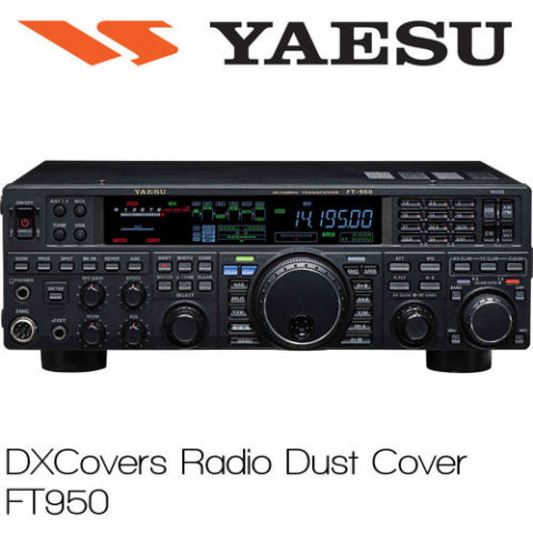 DX Covers Radio Cover FT 950