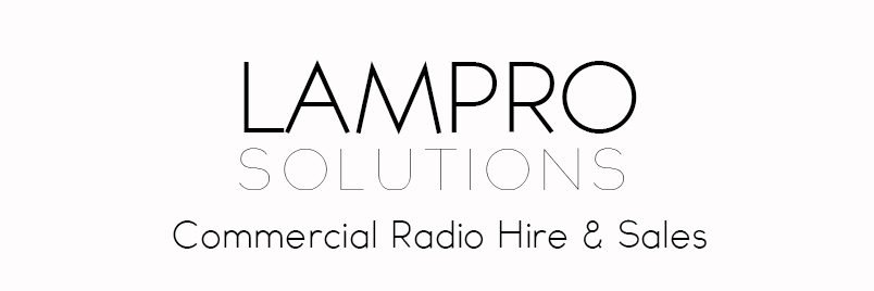 LAMPRO Solutions Commercial Radio Hire and Sales