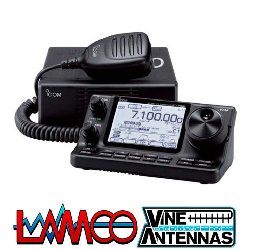 IC7100 by ICOM supplied by LAMCO Barnsley my favourite HAM store in the world 5 Doncaster Road Barnsley S70 1TH