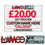 £20.00 Personalised Gift Voucher   LAMCO Barnsley