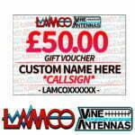 £50.00 Personalised Gift Voucher   LAMCO Barnsley
