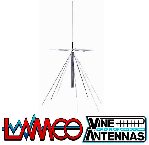 Deluxe Vine Antennas supplied by LAMCO Barnsley my favourite HAM store in the world 5 Doncaster Road Barnsley S70 1TH