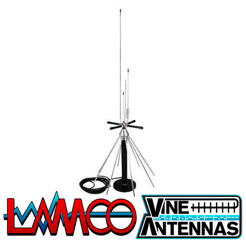 DeskDisc Vine Antennas supplied by LAMCO Barnsley my favourite HAM store in the world 5 Doncaster Road Barnsley S70 1TH