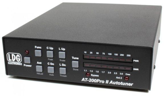 LDG AT-200 Pro 2 Automatic Antenna Tuner