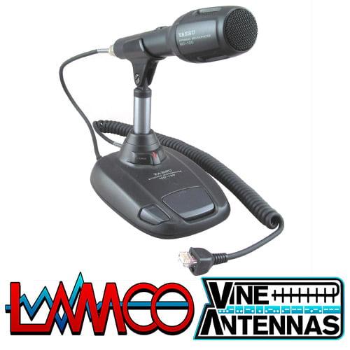 Yaesu MD-100A8X | Desktop Microphone | LAMCO Barnsley