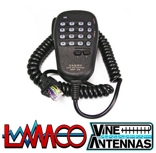 mh-36 Yaesu supplied by LAMCO Barnsley my favourite HAM store in the world 5 Doncaster Road Barnsley S70 1TH