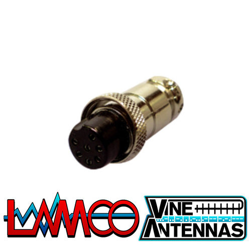 7-Pin-Microphone-Plug supplied by LAMCO Barnsley my favourite HAM store in the world 5 Doncaster Road Barnsley S70 1TH