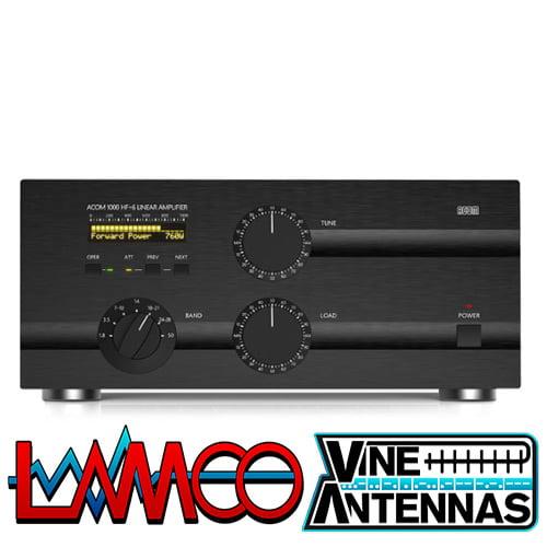 Acom 1000 | 1Kw Valve HF Linear Amplifier | LAMCO Barnsley