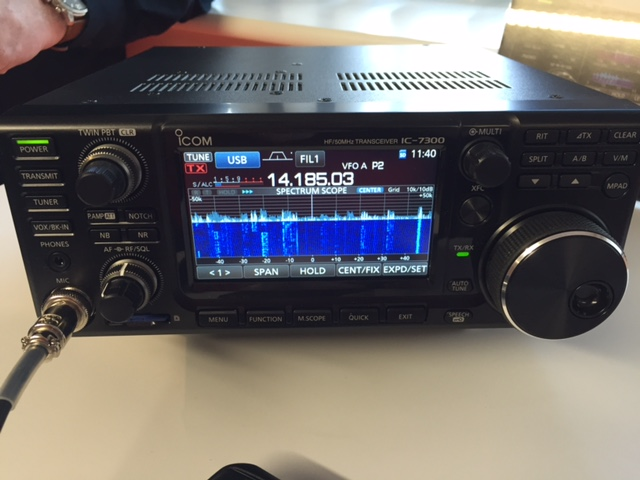 Icom IC-7300 Includes FREE DX Covers Radio Dust Cover