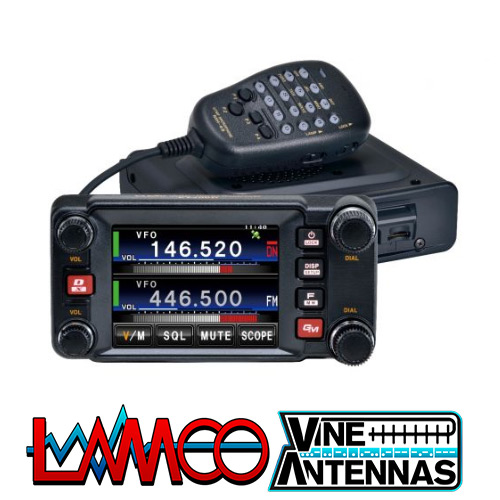 Yaesu FTM-400XDE | Dual Band Transceiver | LAMCO Barnsley