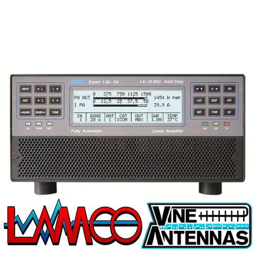 SPE EXPERT 1.3K-FA | FCC Version (Internal ATU)  Version 2 | LAMCO Barnsley