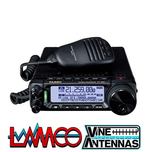 Yaesu FT 891 | HF 50 Mhz Mobile Transceiver | LAMCO Barnsley
