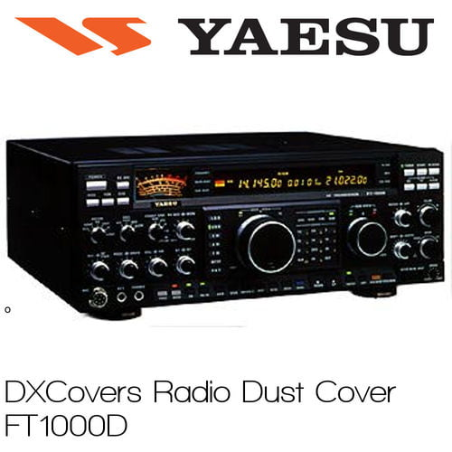 DX Covers Radio Cover FT 1000D