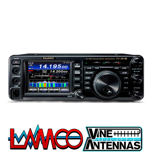 YAESU FT-991A supplied by LAMCO Barnsley my favourite HAM store in the world 5 Doncaster Road Barnsley S70 1TH