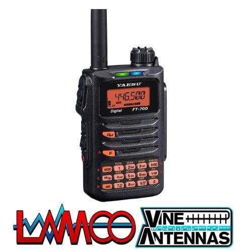 Yaesu FT-70DE VHF UHF Handheld Transceiver LAMCO Barnsley