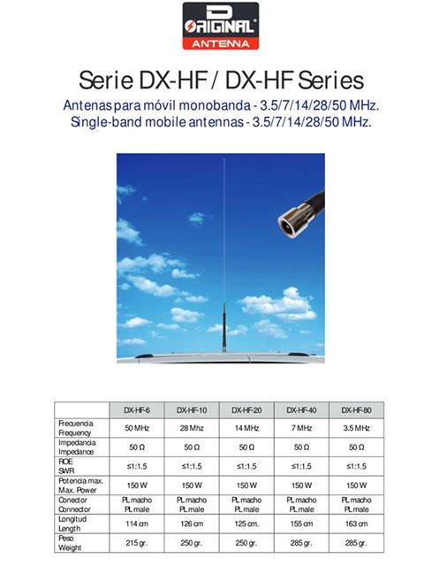 D-Original Dx HF Mobile Antennas
