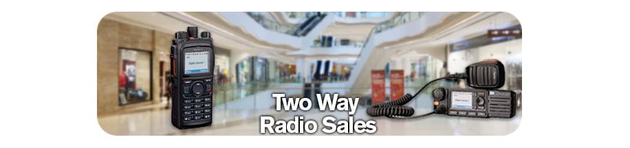 2 Way Radio Sales Banner