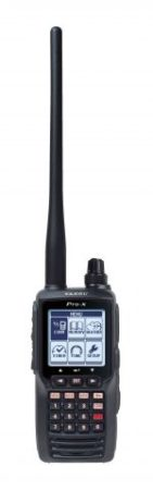 Yaesu FTA 550 Airband Transceiver provides full communication on the Aircraft communications