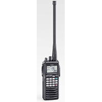 ICOM IC A6E Portable VHF COM Transceiver (NEW 25 kHz/8.33 kHz Dual Channel Spacing Version)