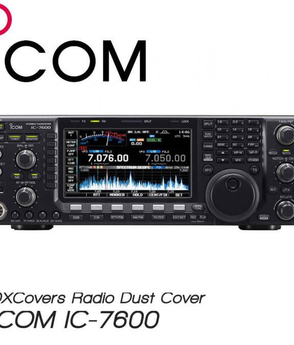ICOM IC-7600 DX Covers