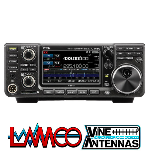 IC9700 by ICOM supplied by LAMCO Barnsley my favourite HAM store in the world 5 Doncaster Road Barnsley S70 1TH