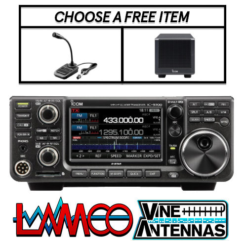 Icom IC-9700 + FREE ITEMS LAMCO Barnsley HAM Radio Shop Amateur Radio Dealer Supplier Vine Antennas Amateur Radio Shops HAM Radio Dealer Supplier Retailer Second Hand Twelve Months Warranty, Amateur Radio Sales. HAM Radio Sales. HAM Radio Shop, HAM Radio Shops, Amateur Radio Dealers, HAM radio dealers UK. Icom, Kenwood, Yaesu, Hytera. HAM Radio Shops, Amateur Radio Shop, Icom, Hytera, Kenwood, Yaesu, Antennas, Antenna Tuners, Power Supplies, Coax, CB Radio, Scanners, Receivers, Short Wave, Barnsley, UK, Call 01226 361700, Yorkshire The HAM Radio Shop Amateur Radio Dealer Suppliers United Kingdom Two Way Radio Hire Two Way Radio Sales Repair Service Scanners CB Radio Receivers Short Wave Radio