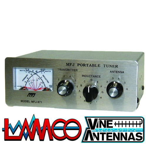MFJ-971 | 30/300W Portable QRP ATU | LAMCO Barnsley