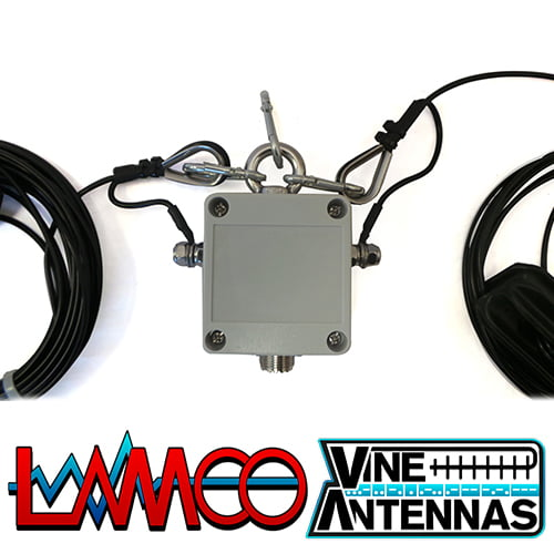 OCF-2 Vine Antennas supplied by LAMCO Barnsley my favourite HAM store in the world 5 Doncaster Road Barnsley S70 1TH
