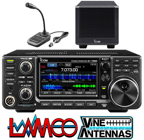 7300 SM30 SP38 Combo deal from ICOM UK supplied by LAMCO Barnsley