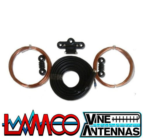 G5RV Half Size Hard Drawn Vine Antennas supplied by LAMCO Barnsley my favourite HAM store in the world 5 Doncaster Road Barnsley S70 1TH