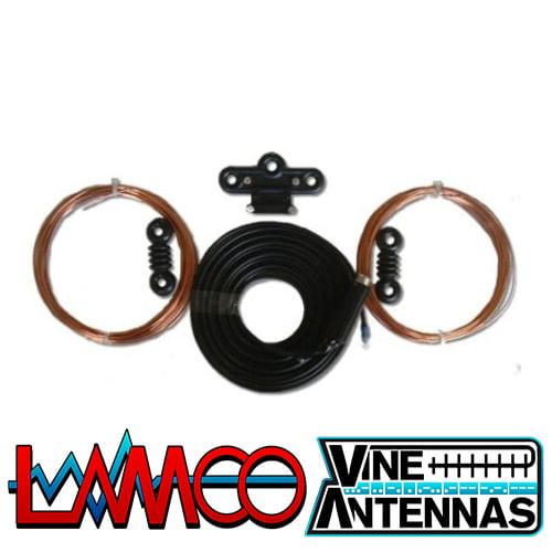 Vine Antenna G5RV | Half Size Hard Drawn Dipole Antenna | LAMCO Barnsley
