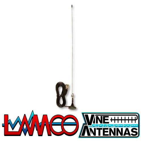 LM-100S Vine Antennas supplied by LAMCO Barnsley my favourite HAM store in the world 5 Doncaster Road Barnsley S70 1TH