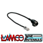 Kenwood MJ-88 | 8 Pin Microphone Adapter | LAMCO Barnsley