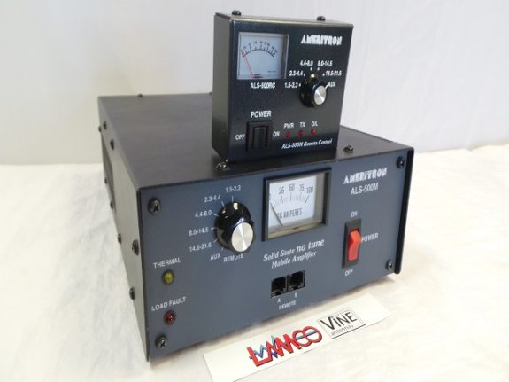 Ameritron ALS-500 + Head Controller HF Amplifier USED Twelve Months Warranty LAMCO Barnsley