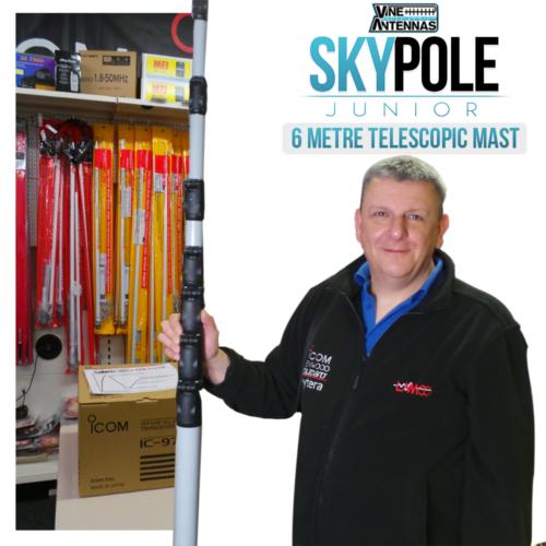 Vine Antennas RST-Skypole J U N I O R 6m