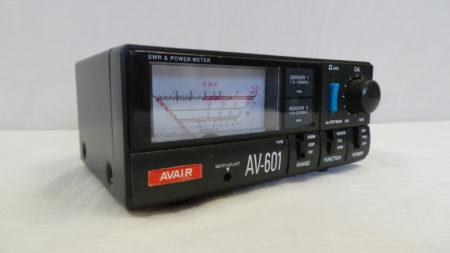 Avair AV-601 HF/VHF/UHF SWR/PWR Meter USED 12 Mths Wty LAMCO Barnsley