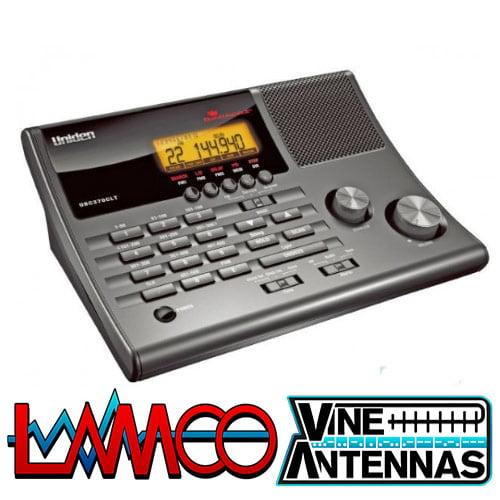 Uniden UBC370CLT | Desktop Scanner w/ Alarm Clock | LAMCO Barnsley