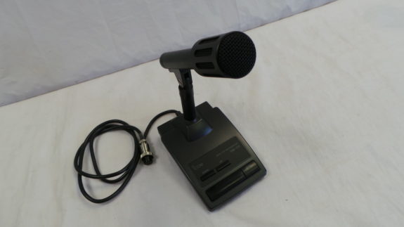 Icom SM-20 Desk Top Microphone USED 12 Mths Wty LAMCO Barnsley
