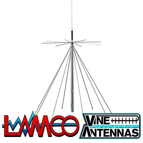 Komunica PWR-D-130 | VHF UHF Discone | LAMCO Barnsley