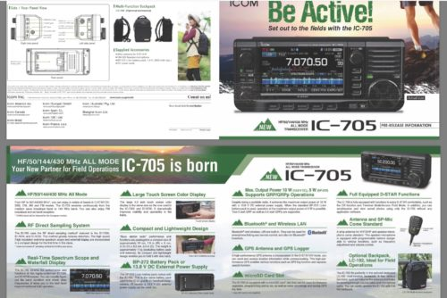 Icom ic705