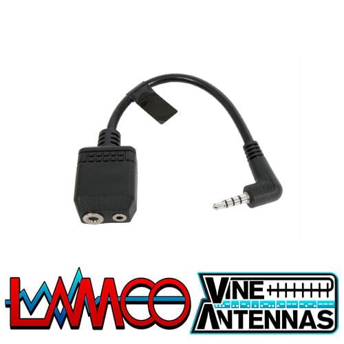 Yaesu CT-44 | Mic Cable Adapter | LAMCO Barnsley