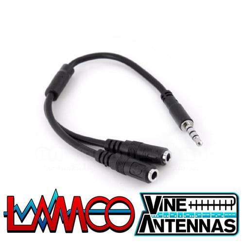 Yaesu CT-91 | Mic Cable Adapter | LAMCO Barnsley