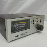 Welz SP-15 HF/VHF PWR SWR Meter USED Twelve Months Warranty LAMCO Barnsley