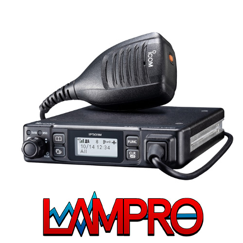 ICOM IP501M | 3G/4G Commercial Mobile Radio | LAMPRO Sollutions