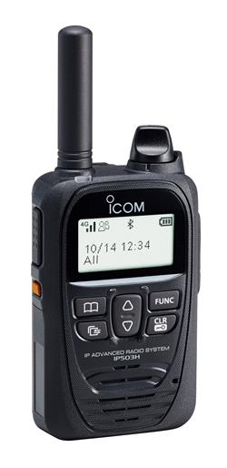 Icom IP503H LTE Push to Talk Over Cellular Two Way Radio System Over 4G/3G