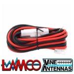 ICOM OPC-025D | 25amp 6 Pin Power Lead | LAMCO Barnsley