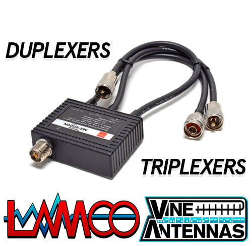 DUPLEXERS AND TRIPLEXERS