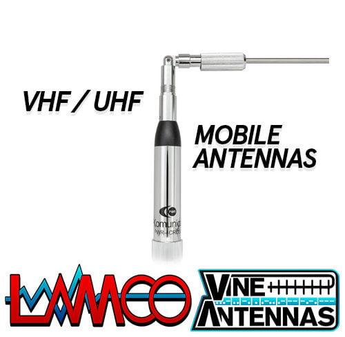 VHF UHF MOBILE ANTENNAS